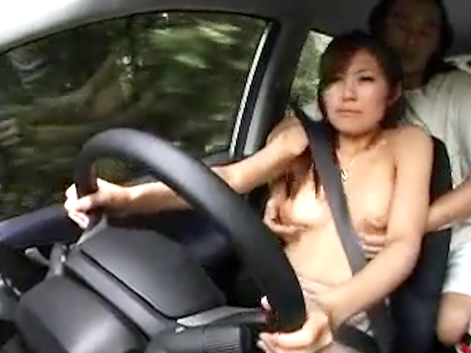 Sex while driving porn