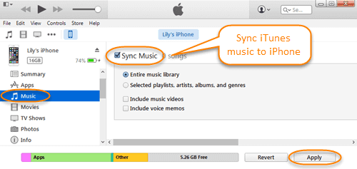 How to transfer iphone music to new iphone