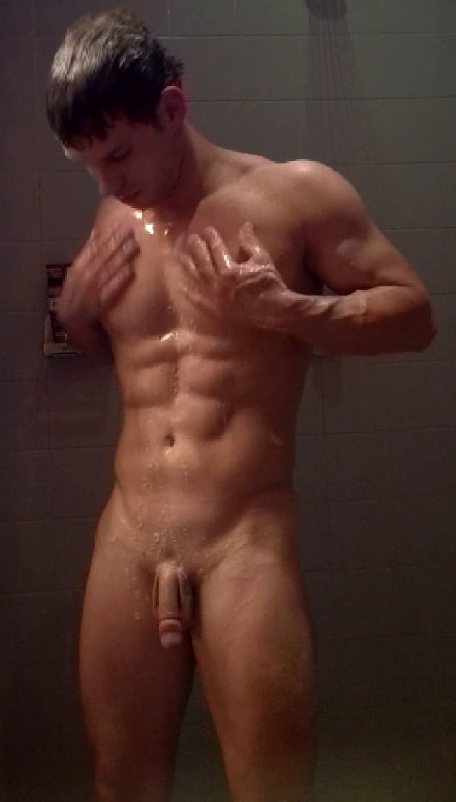 Sexy naked boys in the shower