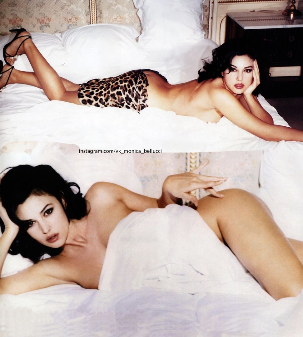 Monica bellucci sex on bed