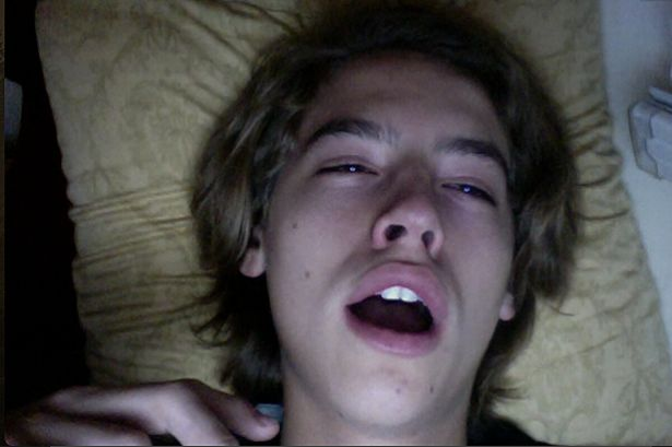Cole sprouse act naked
