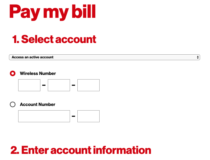 How to pay verizon bill on iphone