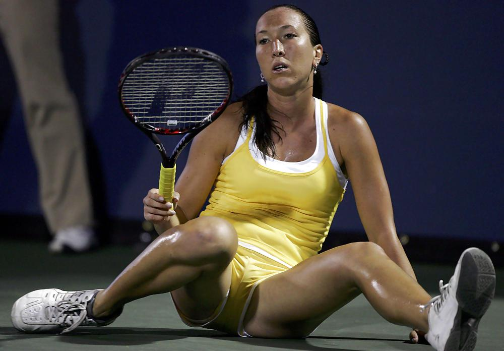 Woman tennis player pussy