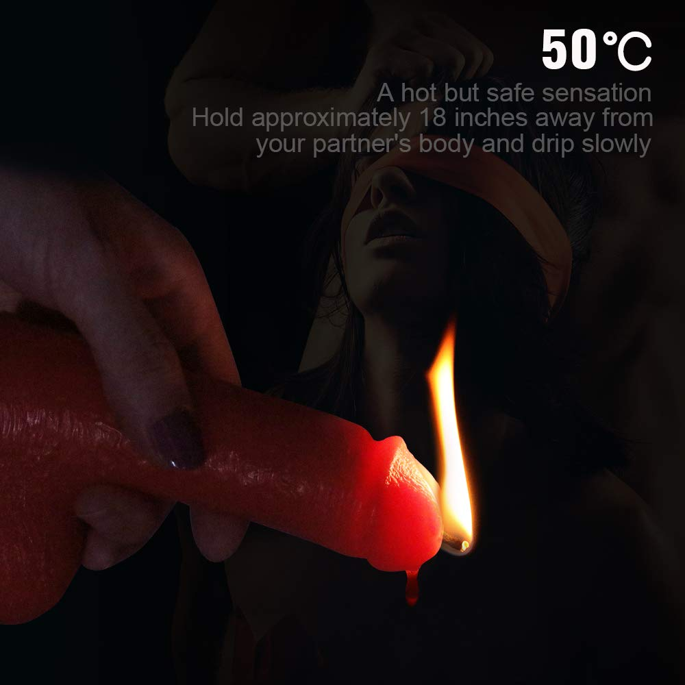 Hot wax on penis