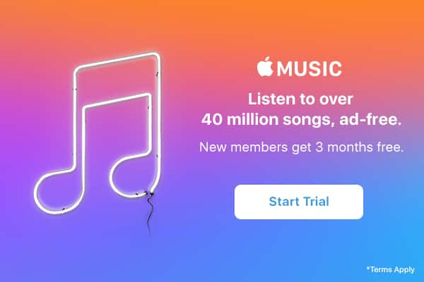Itunes music 3 month trial