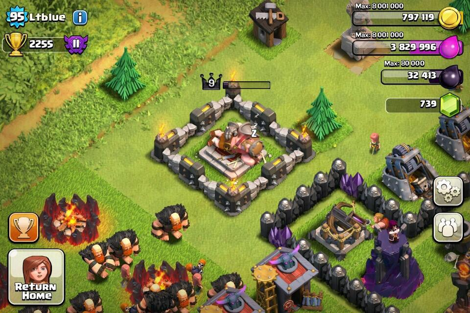 Porn of clash of clans