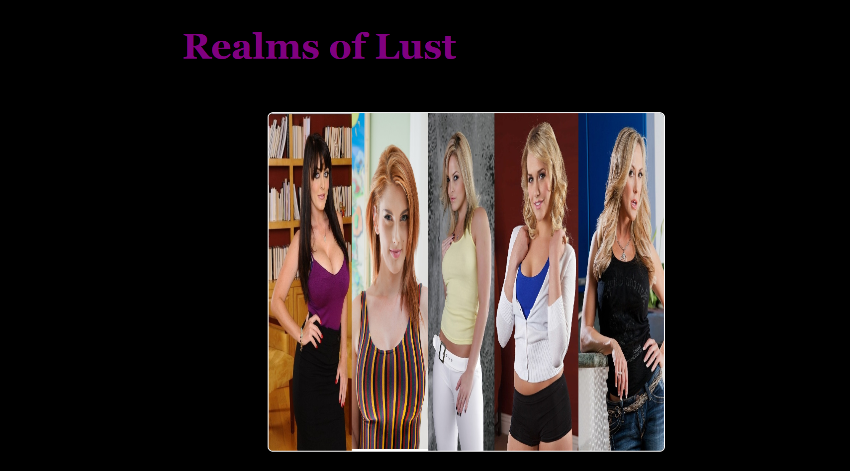 Realms of lust