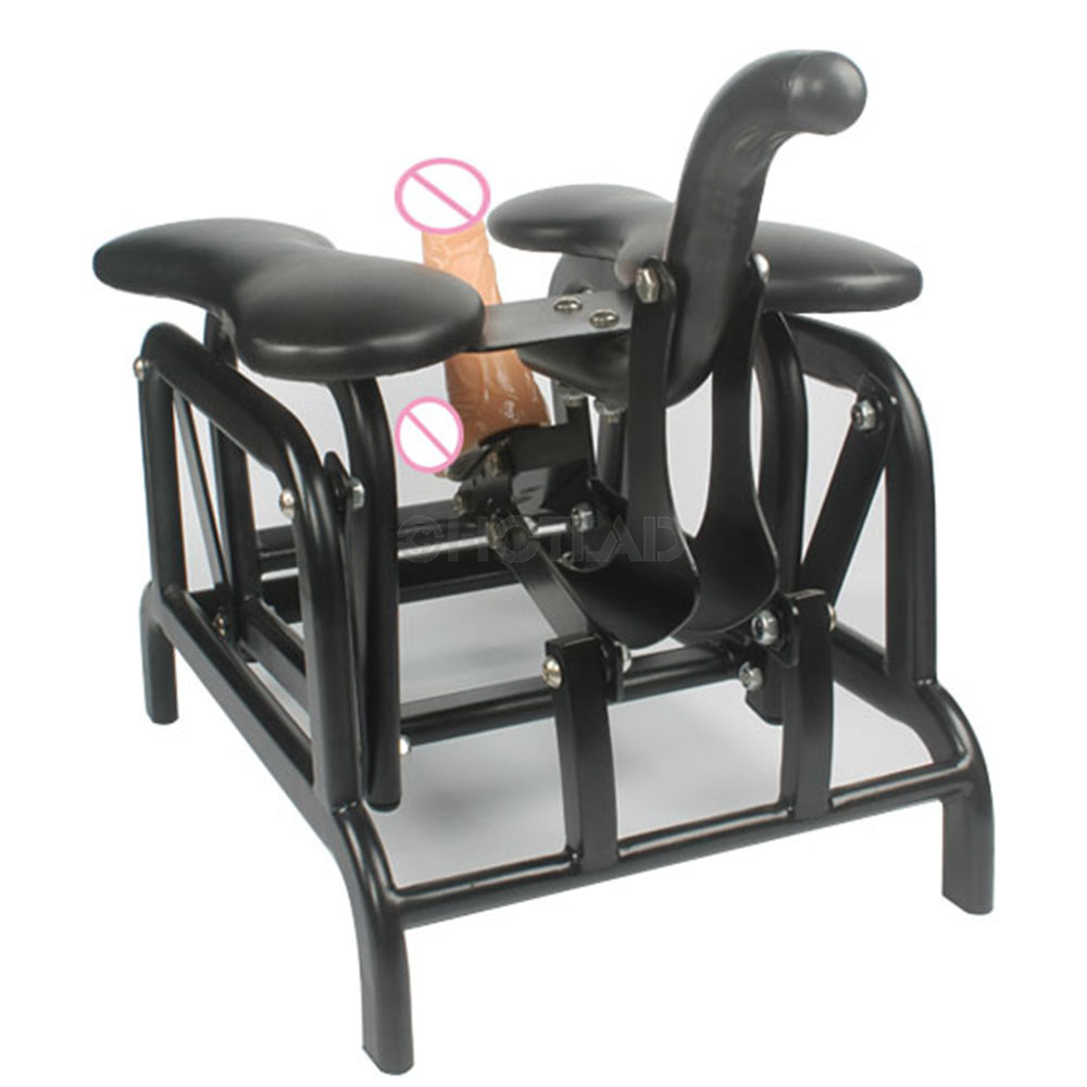 Sex chair with dildo