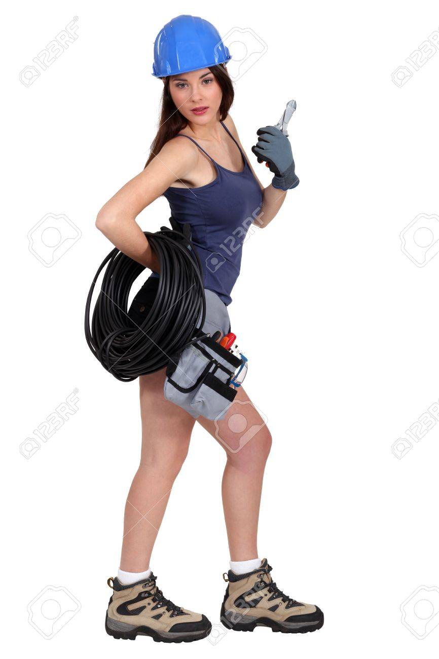 Sexy electrician