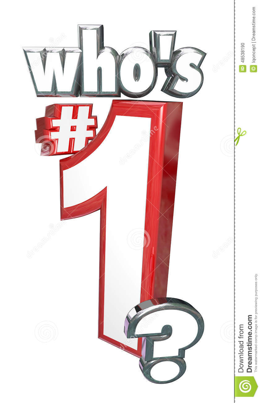 Who is the number one